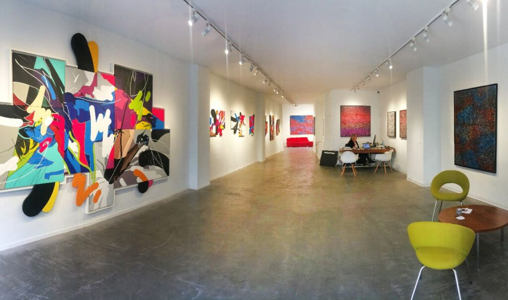 Galerie Martine Ehmer event space