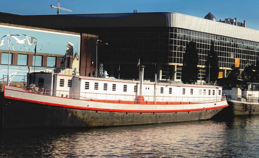Peniche event boat Brussels