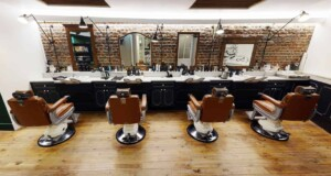 Barber for event venue