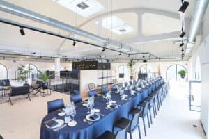 Magnificent event space with a vibrant vibe