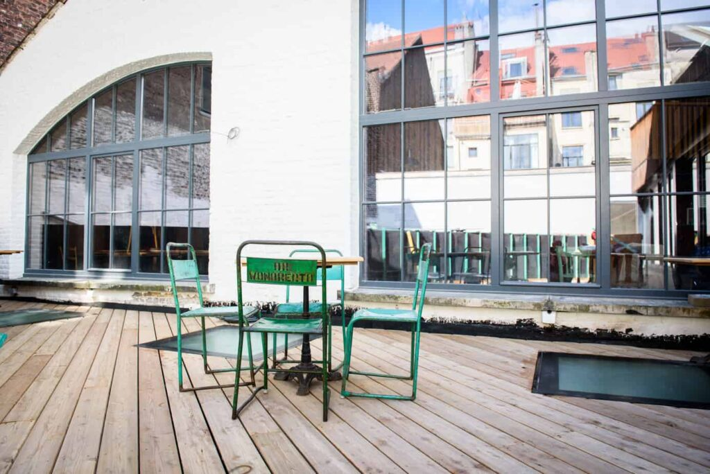 Special venue with terrace and foyer in Brussels
