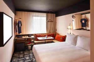 Funky hotel rooms in the heart of East London