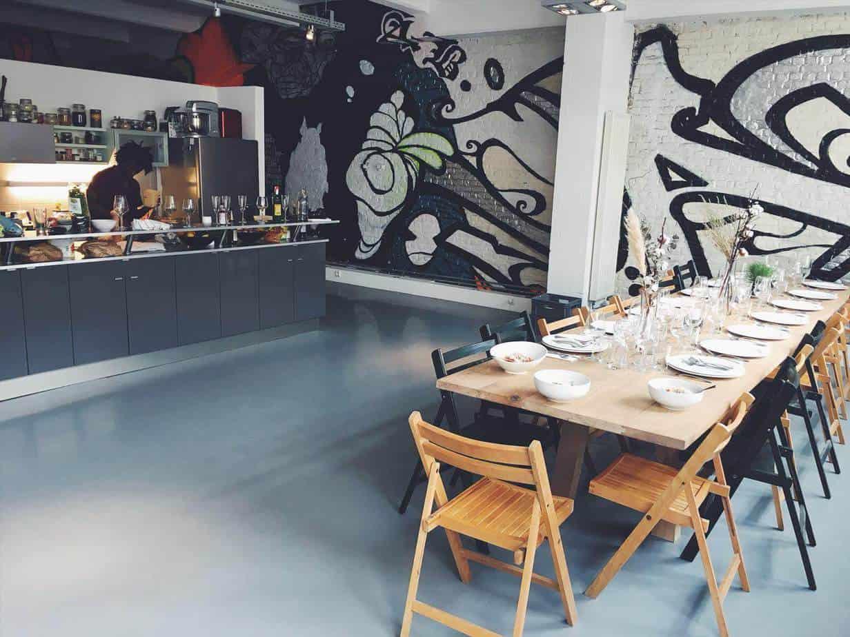 Artistic modern loft