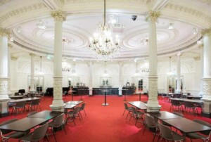 Majestic event room with a classy atmosphere in Amsterdam. Venue for conferences, product launches and private dining.