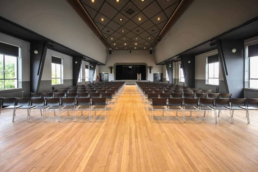 Contemporary event space in Amsterdam