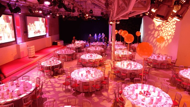Vast event space in Amsterdam