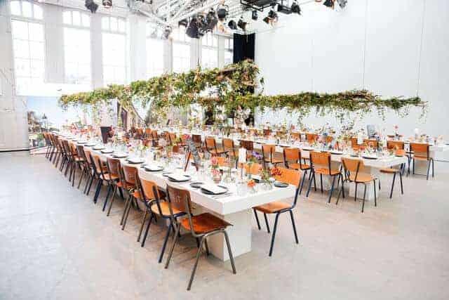 Vast event space in Amsterdam
