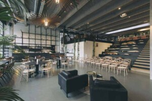 Modern and trendy conference venue