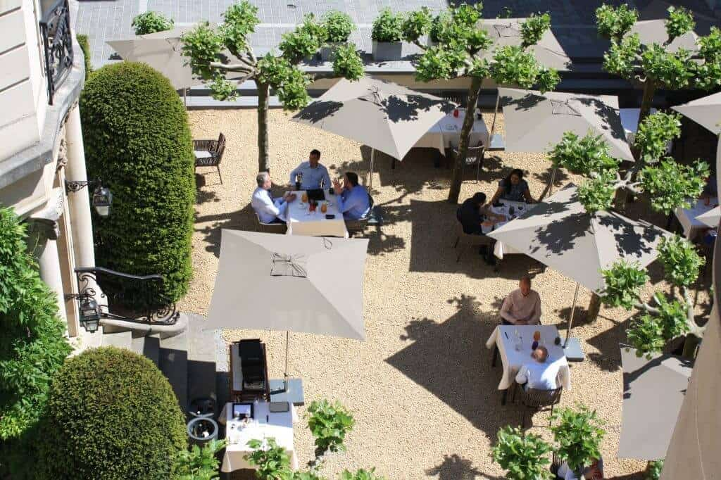 Beautiful garden for events