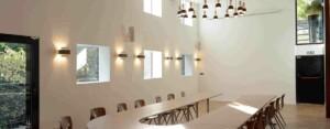 Wooden Meeting Room