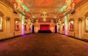 Edwardian event hall in Shepherd's Bush