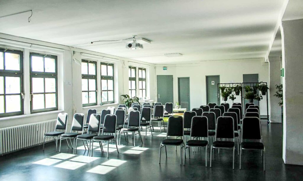 Bitcrowd Light-flooded and contemporary event space in the heart of Kreuzberg