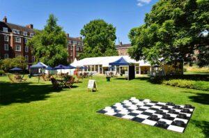 Private garden in central London