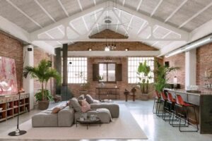 Multipurpose and chic loft for events