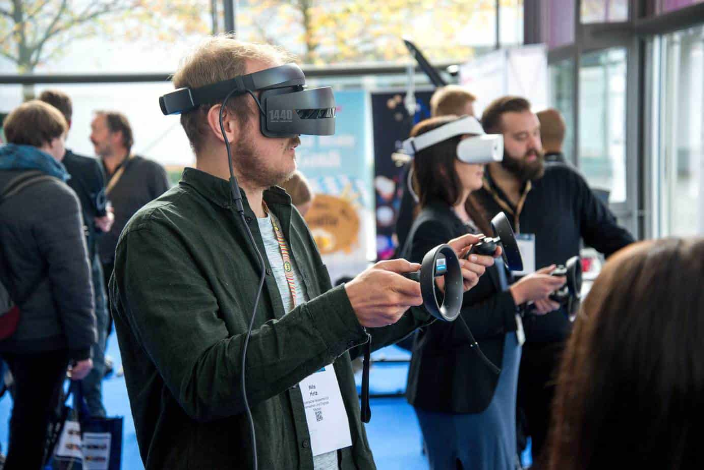 Virtual reality VR in events