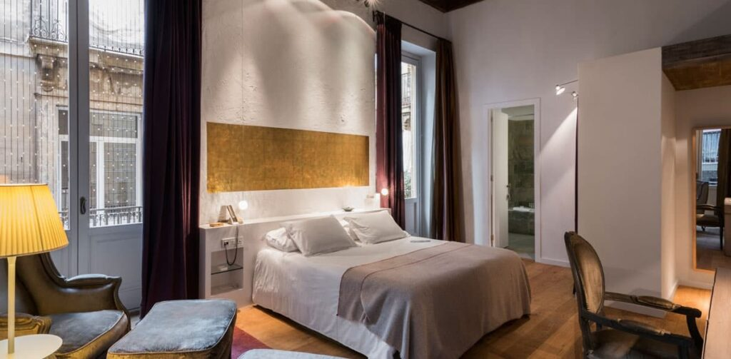 Chic and exclusive boutique hotel in Barcelona