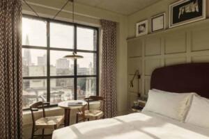 Charming hotel rooms plenty of daylight