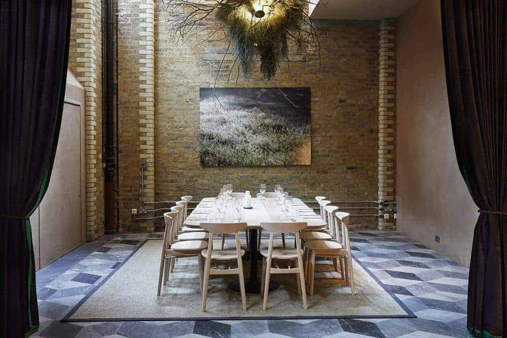Gorgeous private dining location in London