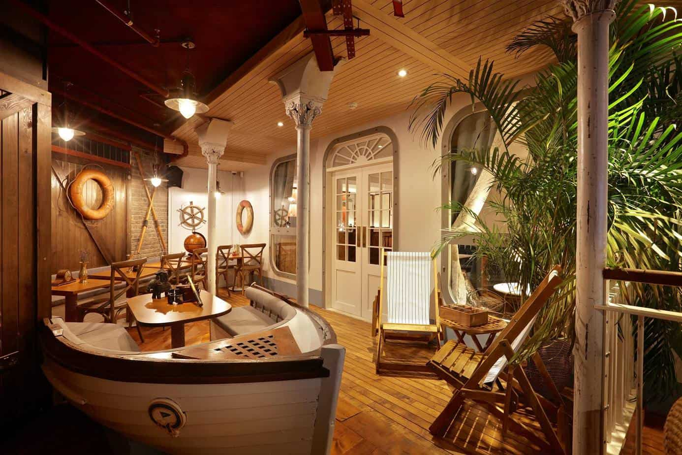 Unique venue with multiple nautical themed event rooms
