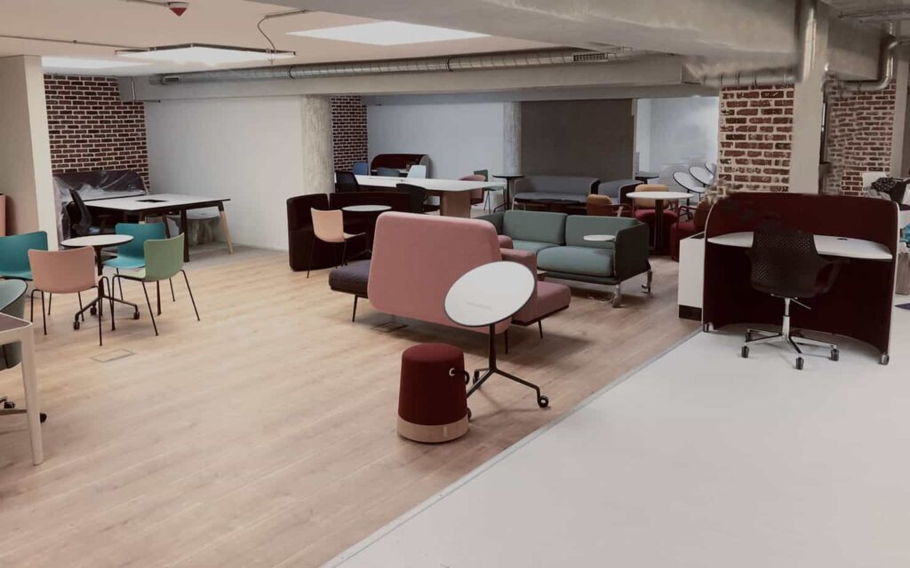 Thoughtfully-designed space in Luxembourg