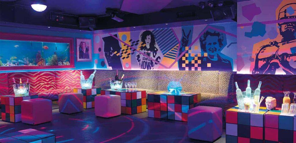 Eighties themed London venue