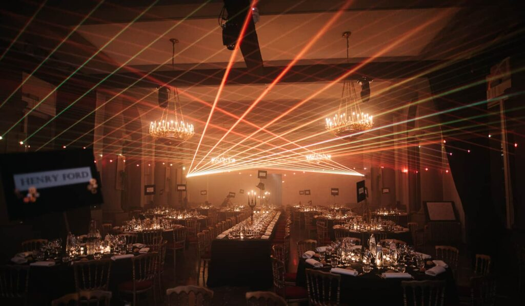 Historic venue for gala dinners
