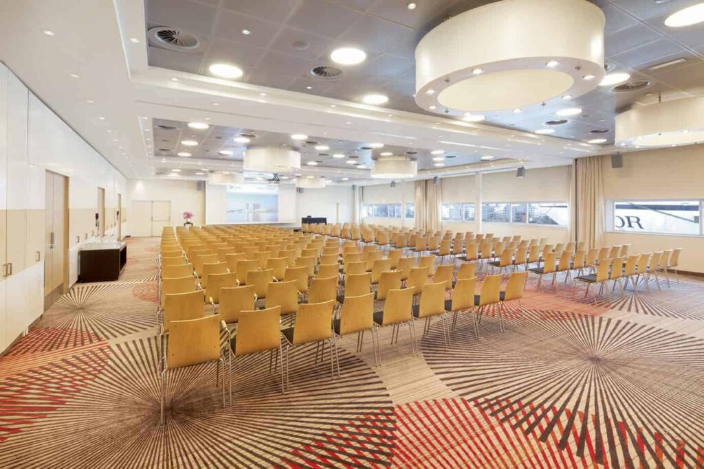 Massive conference room with private character