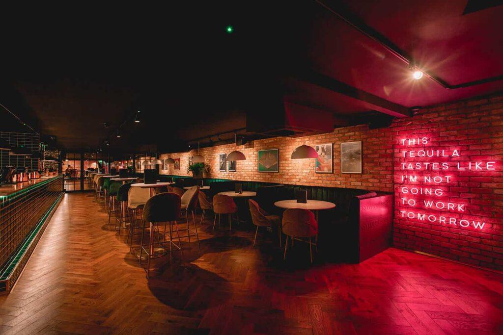 Fancy night venue in Kensington