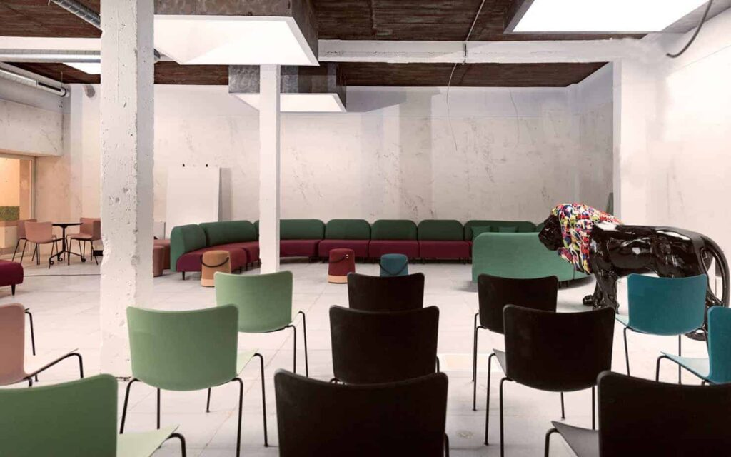 Thoughtfully designed event space in Luxembourg