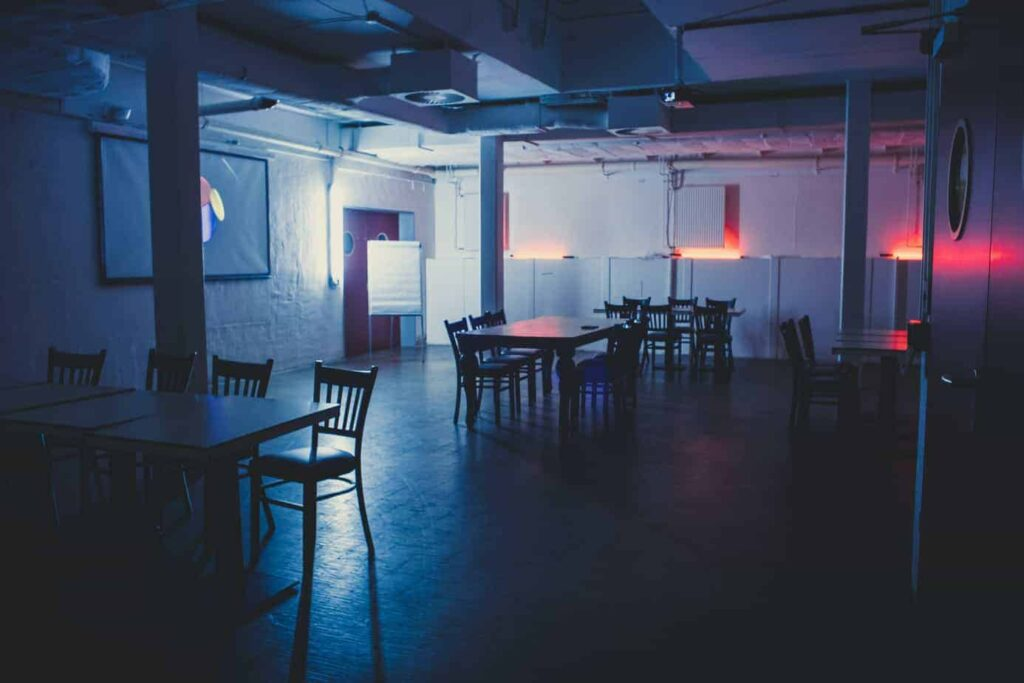 Urban event space with private club and rooftop in Berlin Mitte