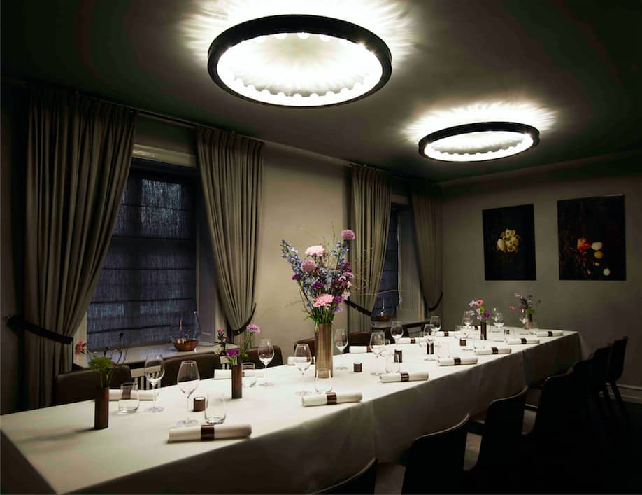 Intimate private dining room in central Copenhagen