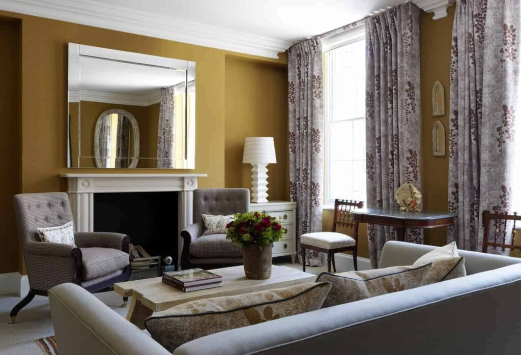 Luxury hotel in modern English style