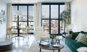 Modernist bright space for luxurious events