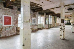 Raw industrial venue in South Bank