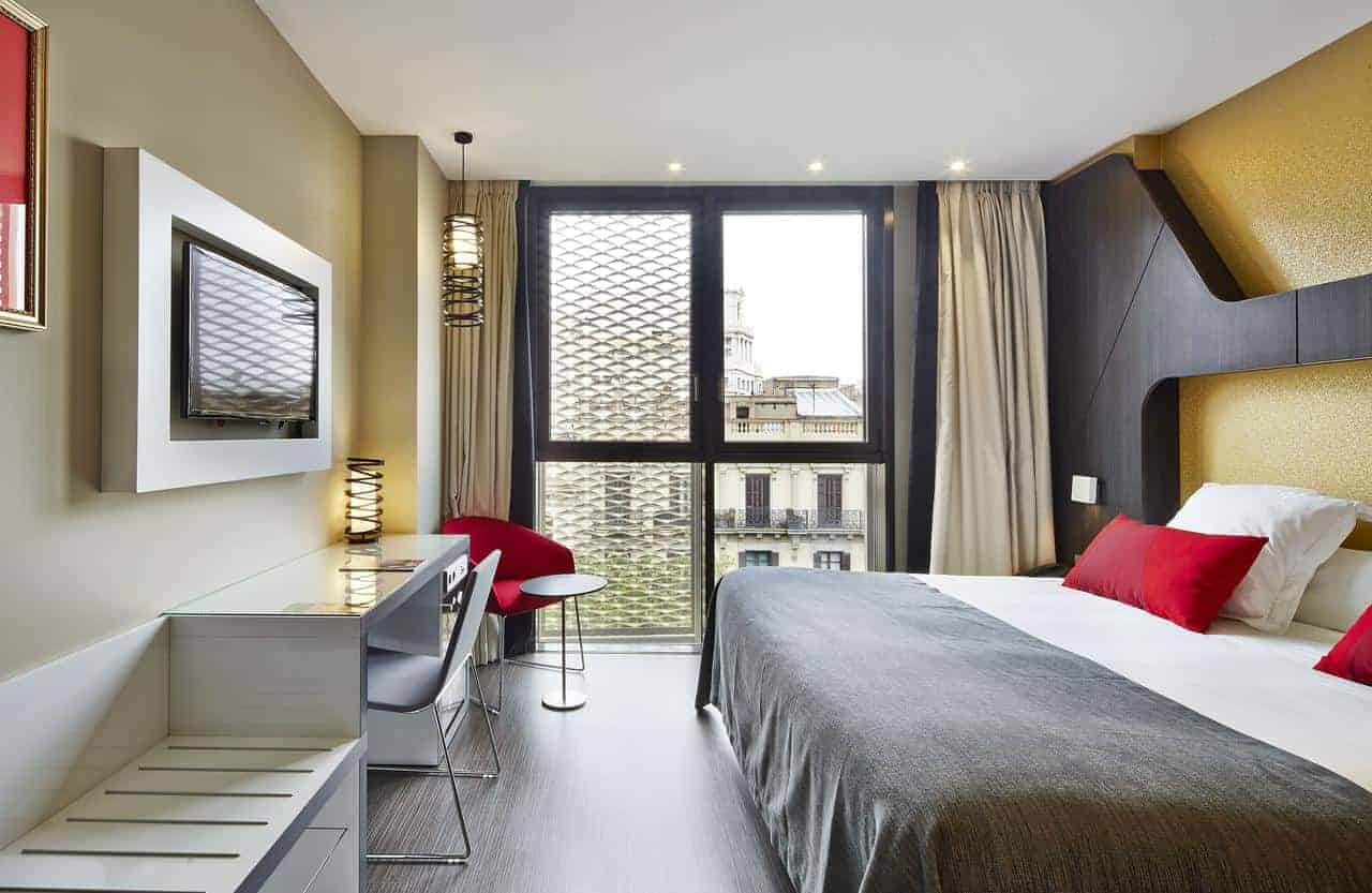 Unique and modern hotel in the heart of Barcelona