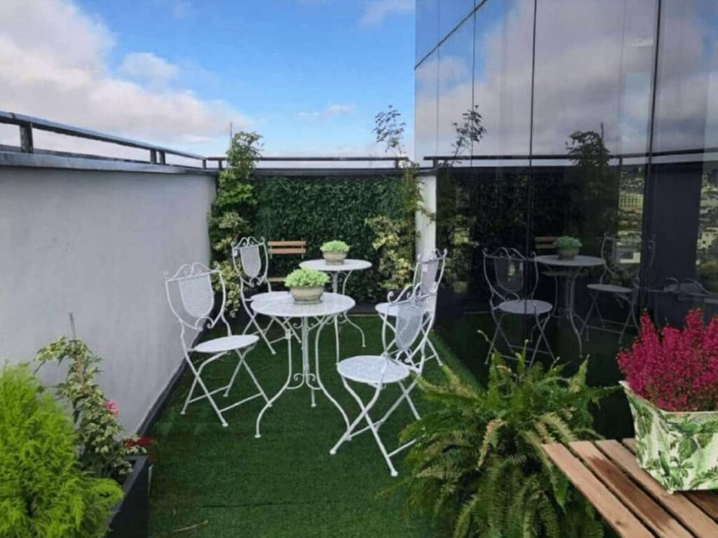 Duplex event location with panoramic views of Madrid