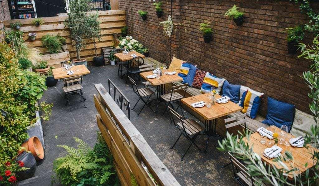 Lovely and little garden in London