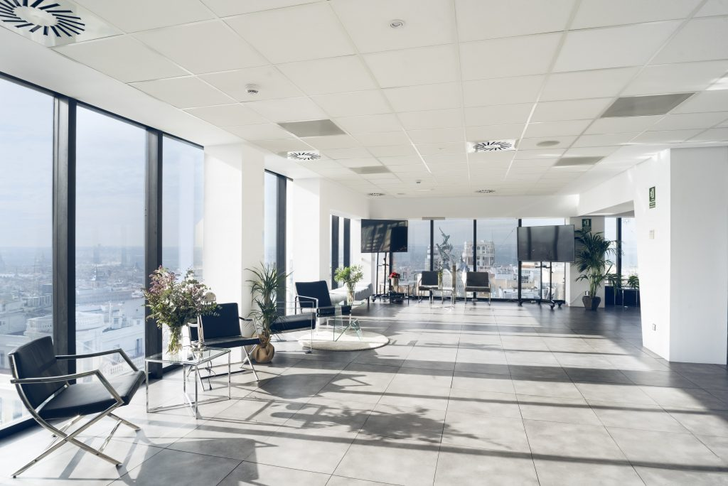 Multidisciplinary event space with beautiful views over Madrid