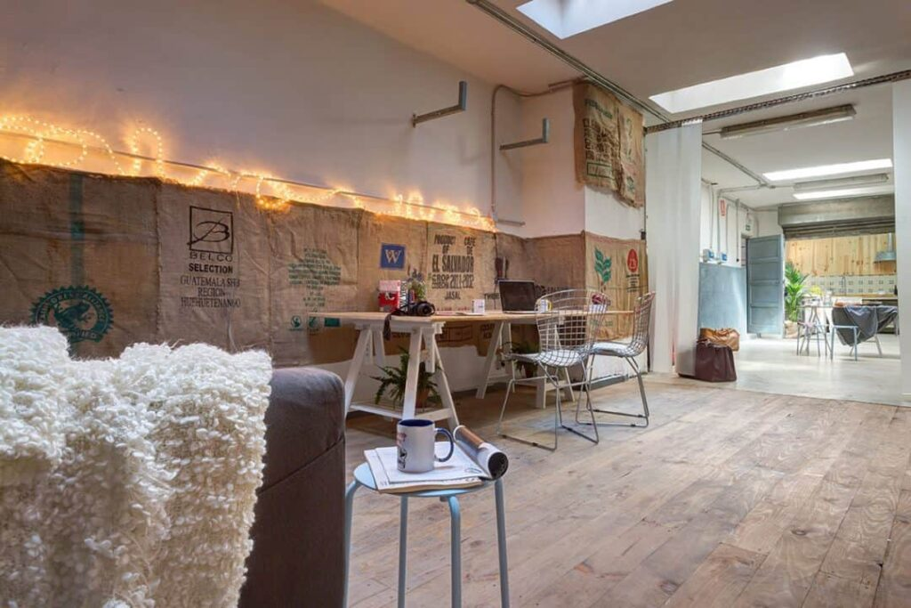 Versatile and rustic space for events in Madrid