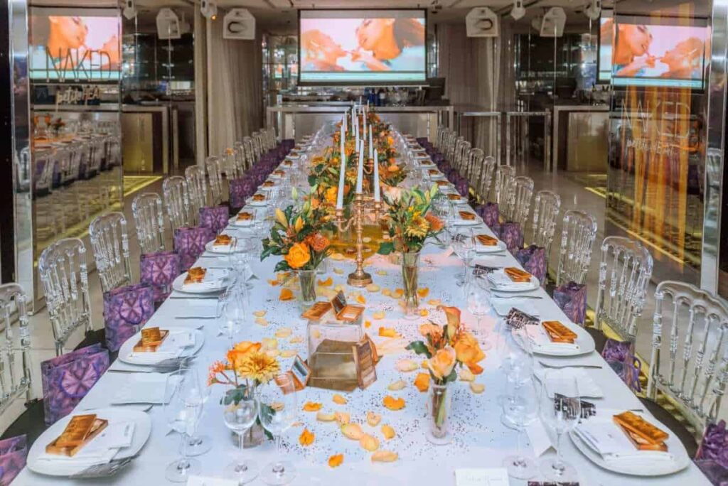Elegant and exclusive venue in a stunning location