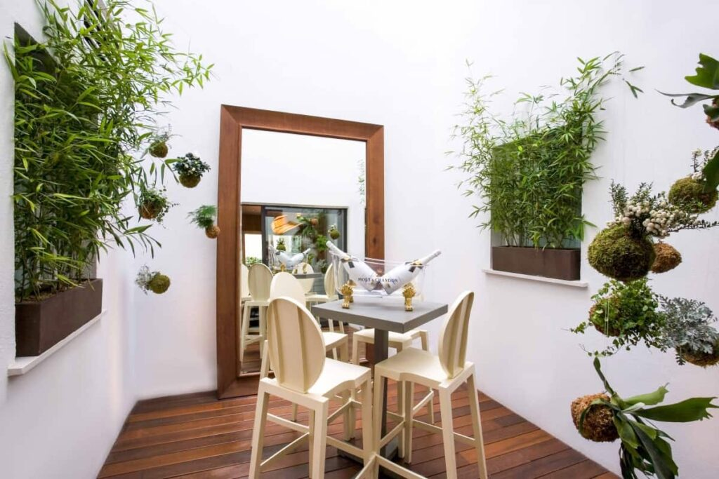 Idyllic event space in the heart of Madrid