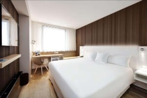 Modern and comfortable hotel for business trips
