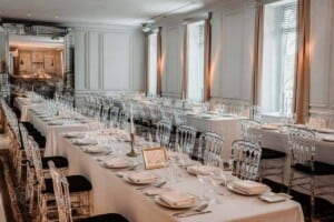 Stunning and exclusive location for private dining