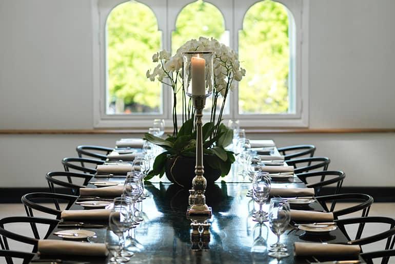 Stylish meeting space elegantly designed