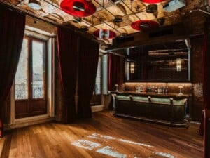 Trendy mysterious location for exclusive events