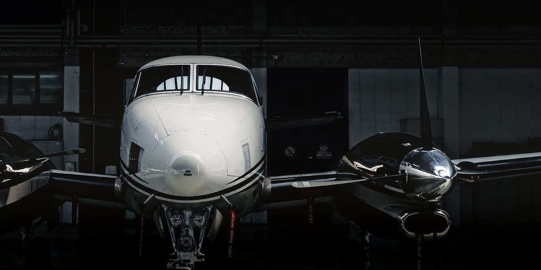 First class clients plane