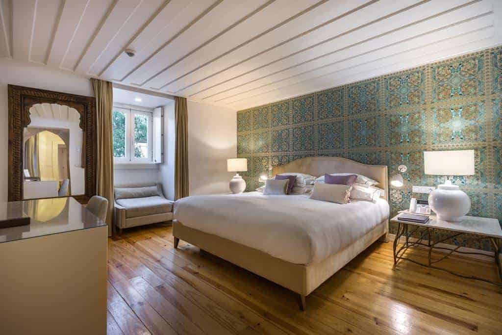 Boutique hotel with beautiful whimsical views