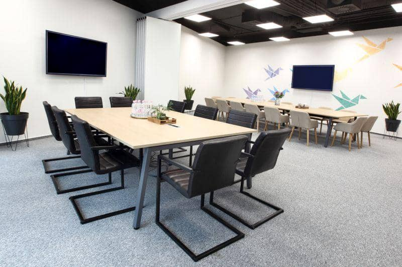 Bright large venue for business meetings