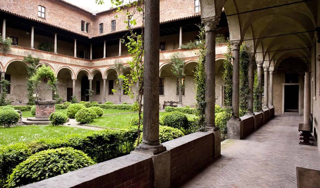 Charming historical space in a monastery
