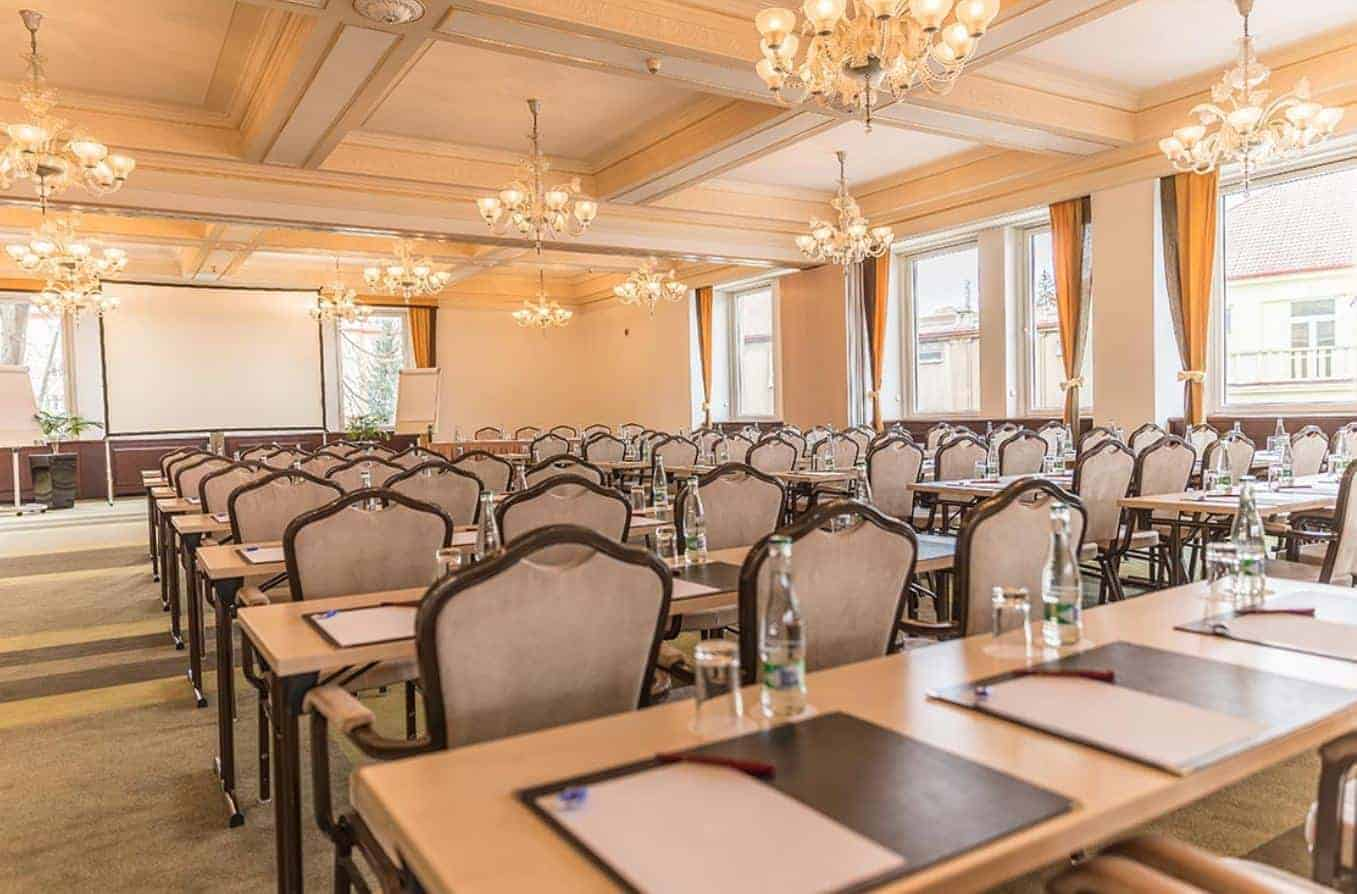 Classical and luminous conference venue